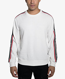 Sean John Mens Race Crew Sweatshirt