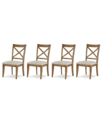 Rachael Ray Everyday Dining, 4-Pc. Set (4 X-Back Side Chairs)
