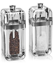 Cole & Mason Kempton Salt & Pepper Grinder Gift Set with Refills