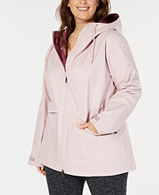 Plus Size Arcadia Hooded Jacket