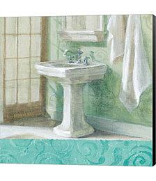 Refresh Bath Border II by Michael Mullan Canvas Art