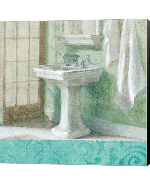 Metaverse Refresh Bath Border II by Michael Mullan Canvas Art