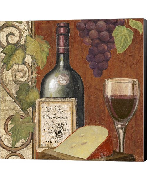 Metaverse Wine and Cheese Tasting 4 by Art Licensing Studio Canvas Art