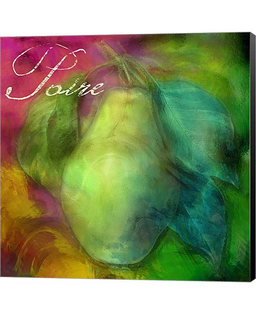 Metaverse Psychedelic Pear by Mindy Sommers Canvas Art