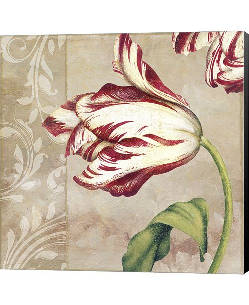 Metaverse Peppermint Tulips II by Color Bakery Canvas Art