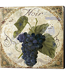 Tuscany Table Noir by Color Bakery Canvas Art