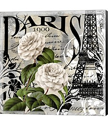 Paris Blanc II by Color Bakery Canvas Art