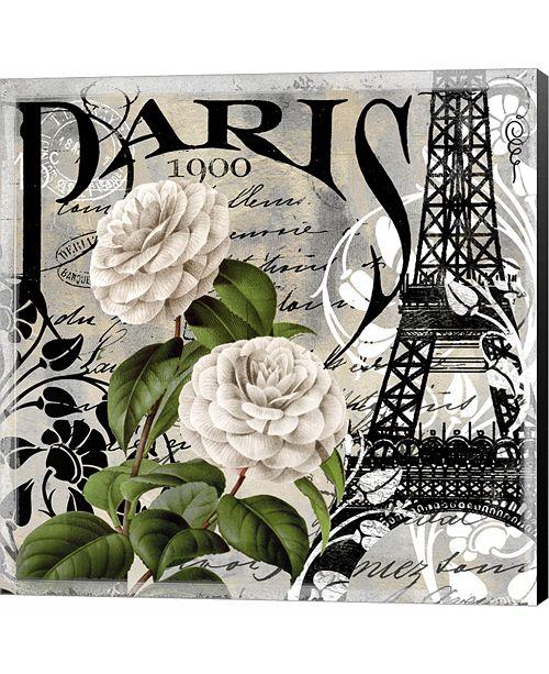Metaverse Paris Blanc II by Color Bakery Canvas Art