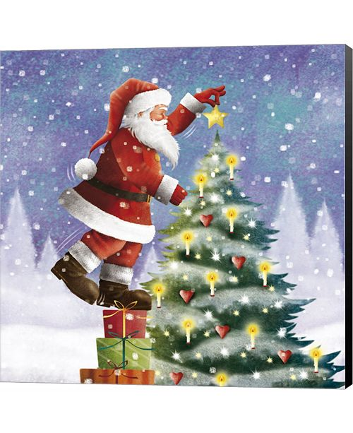 Metaverse One Christmas Star For the Hearts by Sports Mania Canvas Art