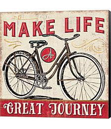 A Great Journey IV by Pela Studio Canvas Art