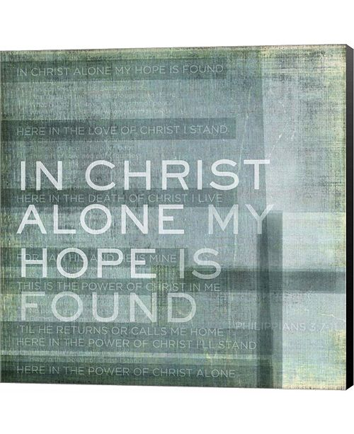 Metaverse In Christ Alone by Dallas Drotz Canvas Art