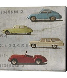 Vintage Cars by Symposium Design Canvas Art