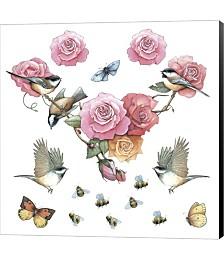 Chickadee by Art Brands Canvas Art