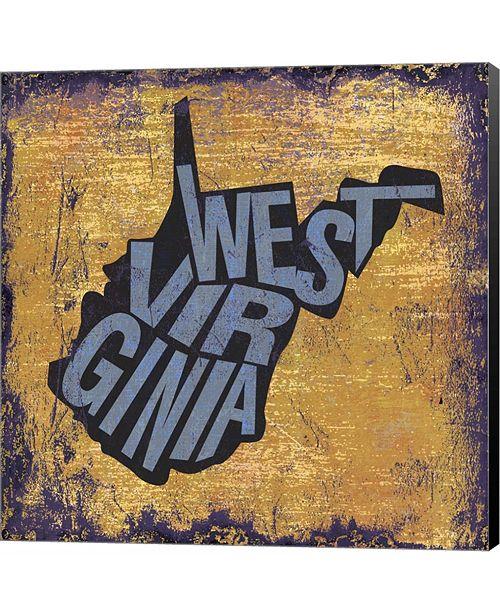 Metaverse West Virgina by Art Licensing Studio Canvas Art
