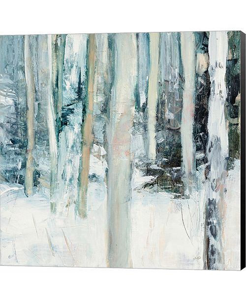 Metaverse Winter Woods I by Elizabeth Urquhart Canvas Art
