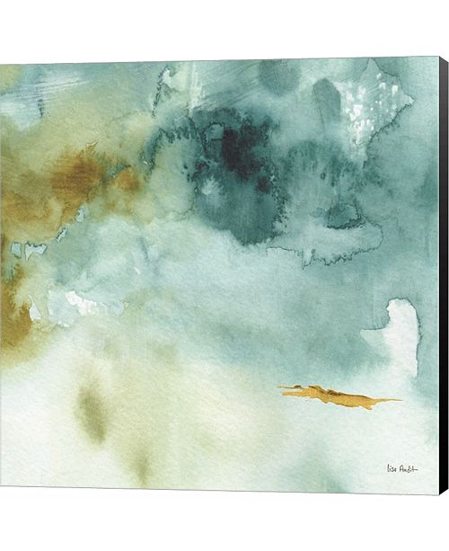 Metaverse My Greenhouse Abstract IV by Lisa Audit Canvas Art