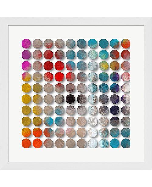 Metaverse Inspired by Rothko 2 by Irena Orlov Framed Art