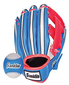 """Air Tech 9"""" Baseball Glove Right Handed Thrower With Ball"""