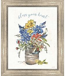 Texas Bluebonnet I by Anne Tavoletti Framed Art
