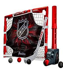 Mini Hockey Automatic Passer, Goal & Target Set
