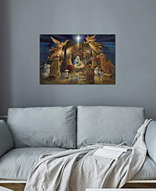 """iCanvas """"Nativity"""" by Ruane Manning Gallery-Wrapped Canvas Print"""