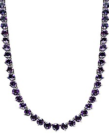 Amethyst Necklace (30 ct. t.w.) in Sterling Silver (Also Available in Garnet, Peridot, Blue topaz & Multi-Stone)