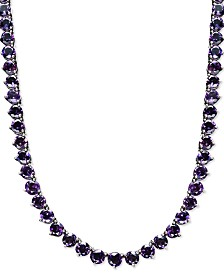 Amethyst Necklace (30 ct. t.w.) in Sterling Silver (Also Available in Blue Topaz, Peridot, Garnet & Multi-Stone)