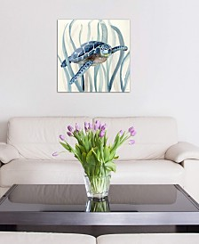 "iCanvas ""Fish in Seagrass I"" by Nan Gallery-Wrapped Canvas Print"