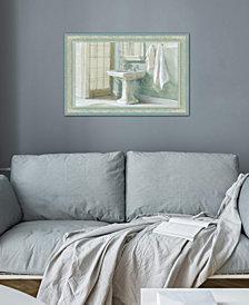 "iCanvas ""Refresh Bath I"" by Wild Apple Portfolio Gallery-Wrapped Canvas Print (18 x 26 x 0.75)"