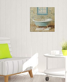 """Victorian Bath I"" by Danhui Nai Gallery-Wrapped Canvas Print (18 x 18 x 0.75)"