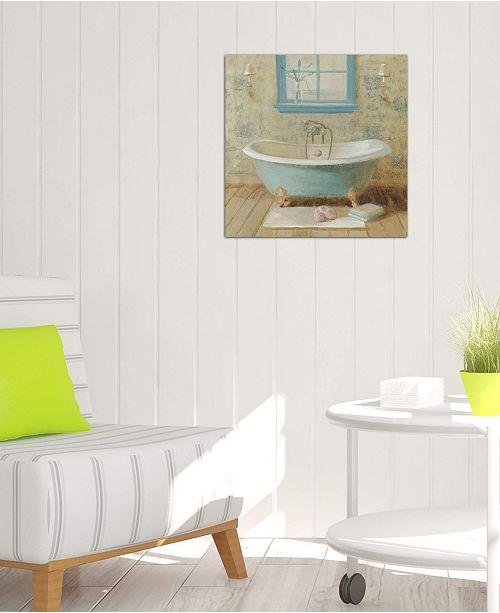 "iCanvas ""Victorian Bath I"" by Danhui Nai Gallery-Wrapped Canvas Print (18 x 18 x 0.75)"