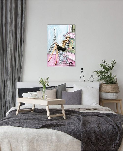 "iCanvas ""Paris"" by Bella Pilar Gallery-Wrapped Canvas Print (40 x 26 x 0.75)"