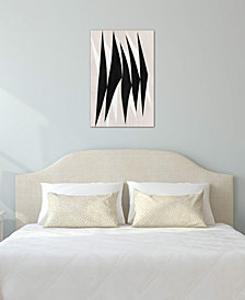 "iCanvas ""Modern Art - Zebra Print Tribal Paint"" by 5by5collective Gallery-Wrapped Canvas Print (40 x 26 x 0.75)"