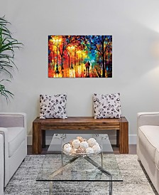"""iCanvas """"Romantic Evening"""" by Leonid Afremov Gallery-Wrapped Canvas Print (26 x 40 x 0.75)"""