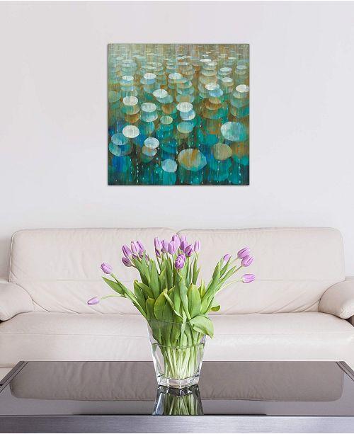 "iCanvas ""Rain Drops"" by Danhui Nai Gallery-Wrapped Canvas Print (26 x 26 x 0.75)"