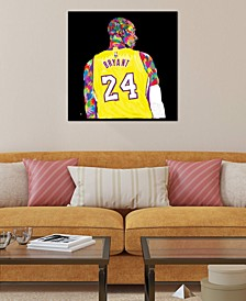 """Kobe"" by TECHNODROME1 Gallery-Wrapped Canvas Print (18 x 18 x 0.75)"