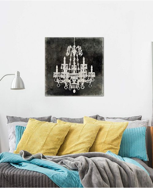 "iCanvas ""Chandelier II"" by Oliver Jeffries Gallery-Wrapped Canvas Print (26 x 26 x 0.75)"