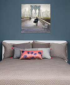 "iCanvas ""Bridge To New York"" by Julia Purinton Gallery-Wrapped Canvas Print (26 x 26 x 0.75)"