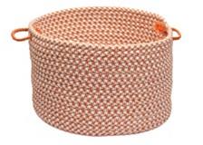 Outdoor Houndstooth Tweed Braided Basket