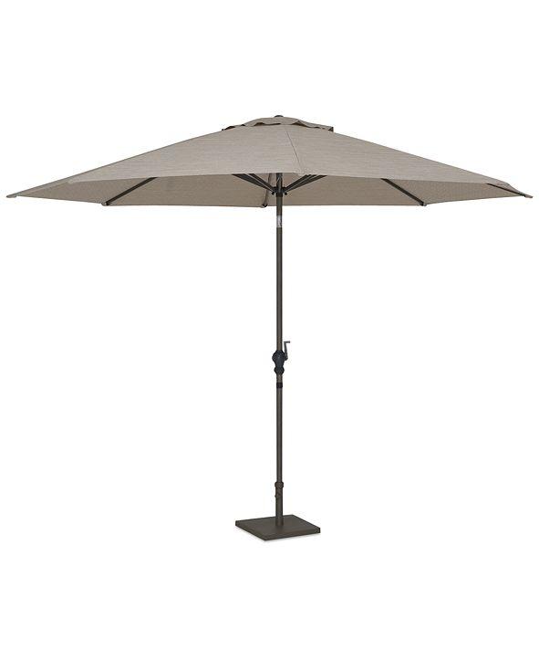 Furniture CLOSEOUT! Rialto Outdoor 6' Aluminum Umbrella, Created for Macy's