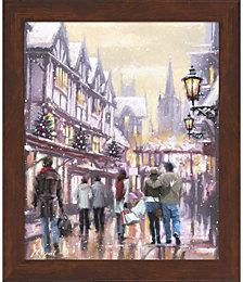 Christmas Shoppers by The Macneil Studio Framed Art