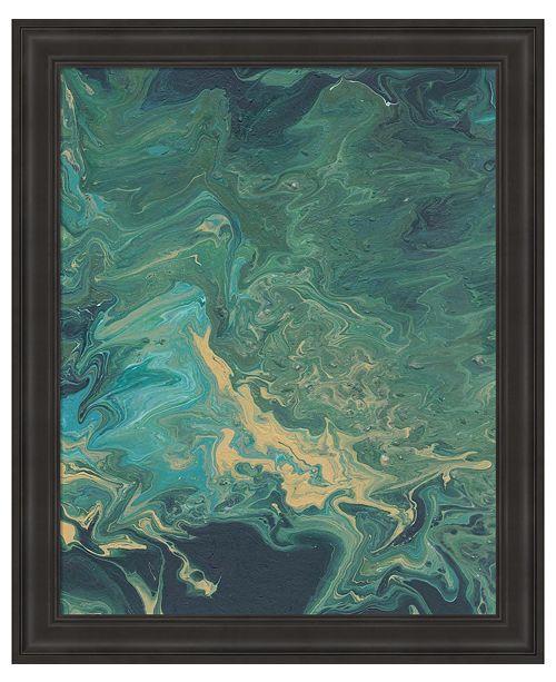 Metaverse Rambling Sage II by Regina Moore Framed Art