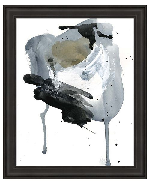 Metaverse Raku Abstract II by Jennifer Parker Framed Art