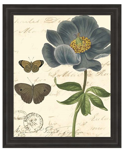 Metaverse Small Vintage Floral I by Vision Studio Framed Art