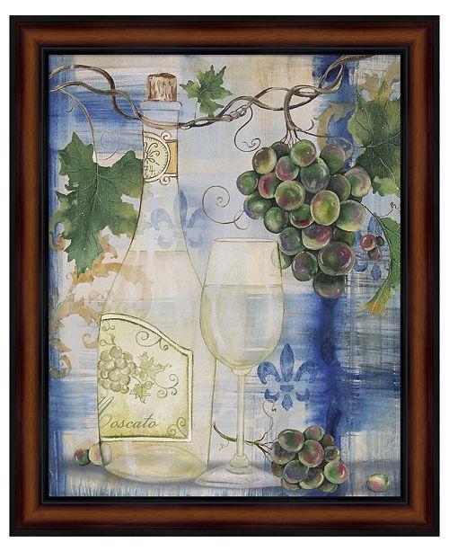 Metaverse Royal Wine II by Jean Plout Framed Art