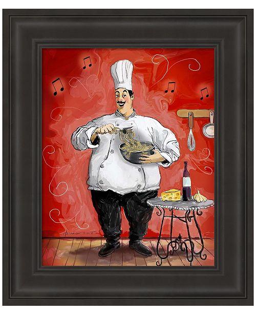 Metaverse Pasta by Frank Harris Framed Art