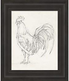 Rooster Sketch II by Ethan Harper Framed Art