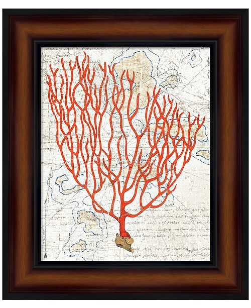 Metaverse Textured Coral IV by Avery Tillmon Framed Art