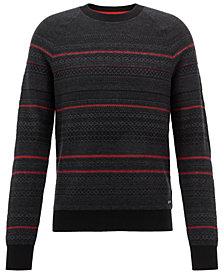 BOSS Men's Jacquard Sweater