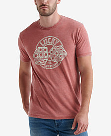 Lucky Brand Mens Graphic T-Shirt